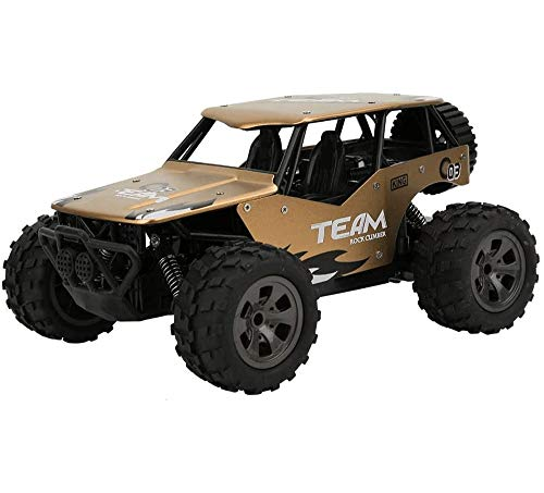 ZHANGL RC Car Remote Control Off Road Cars, 1:18 Scale 2.4Ghz Radio Crawlers Off Road Vehicle Toy RC Car, Max Speed 25km/h, Best Gift for Boys