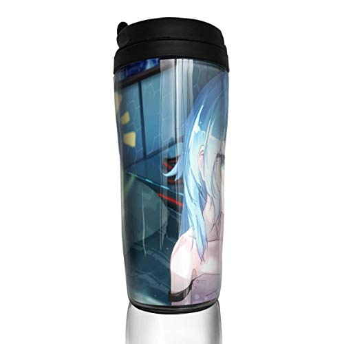 Coffee Cup Outdoor Trave Hatsune Miku Coffee Mugs Vacuum Insulated Tumbler Thermos Mug Double Wall Tumbler Mugs