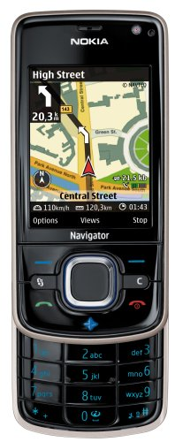 Nokia 6210 Navigator 6,1 cm (2.4') Nero 950 mAh