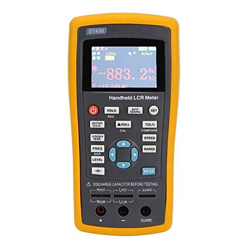 Multifunction Digital Resistance Inductance Capacitance Meter, Manual/Automatic Range Measuring Meter 100~240V(ET430)
