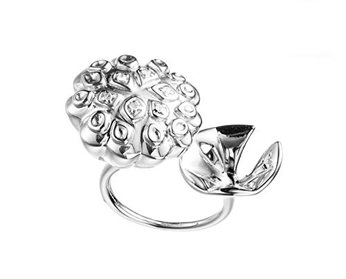 Handcrafted Lotus Flower Ring by Majade