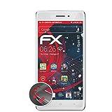 atFolix Schutzfolie kompatibel mit Oppo R7 Folie, entspiegelnde & Flexible FX Bildschirmschutzfolie (3X)