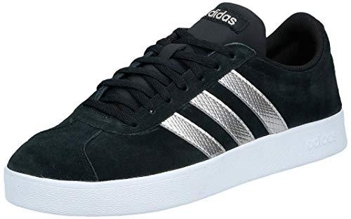 adidas Performance VL Court 2.0 Sneaker Damen schwarz/weiß, 7.5 UK - 41 1/3 EU - 9 US
