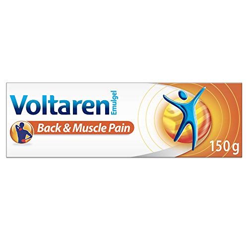 Voltaren Back & Muscle Topical Pain Relief Cream, 150 gram