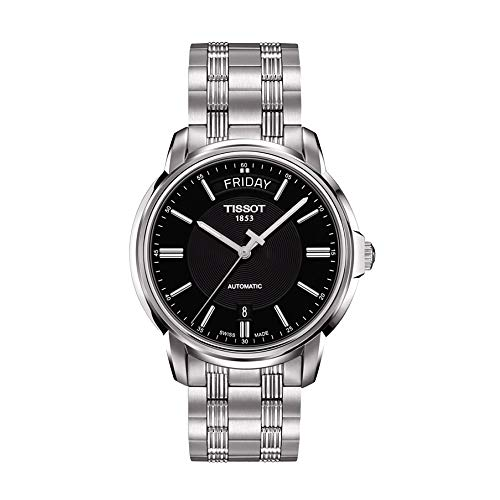 Tissot Automatics III Day Date Black Dial Men's Watch T065.930.11.051.00