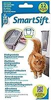 Catit Sac Biodégradable 12 Sacs pour Tiroir pour Maison de Toilette Smartsift Chat