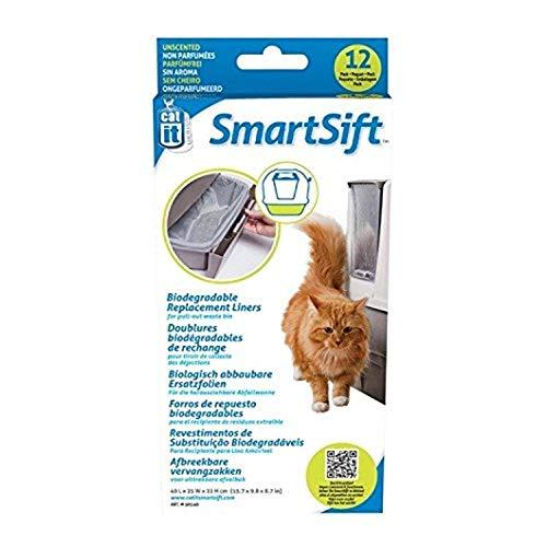 Catit Senses Smart Sift abbaubare Einlagen für die Abfallwanne 40 x25 x 22 cm, 12St