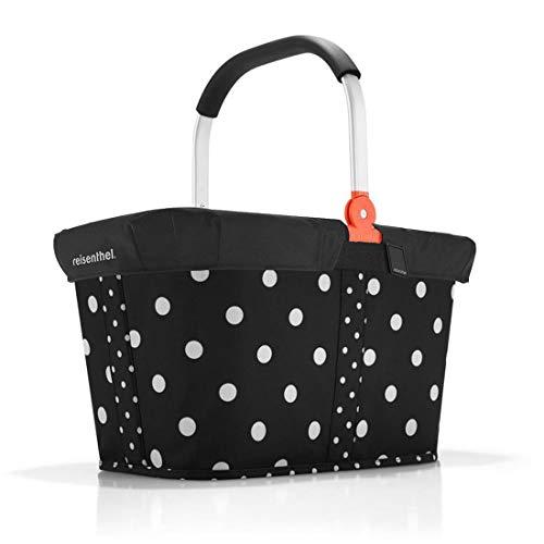 reisenthel Einkaufskorb carrybag Plus GRATIS passendes Cover Einkaufskorb Einkaufstasche (Diamonds Mocha)
