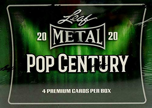 2020 Leaf Metal Pop Century box (4 cards/bx)