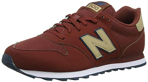 New Balance 500, Zapatillas para Hombre, Verde (Faded Rosin/Moonbeam/Trench Cfm), 43 EU