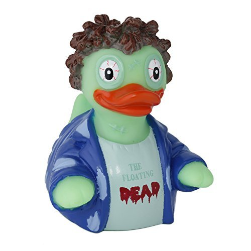 CelebriDucks The Floating Dead Zombie RUBBER DUCK Costume Quacker Bath Toy by CelebriDucks