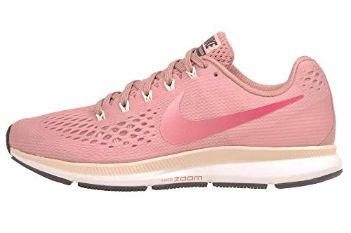 Nike Damen Air Zoom Pegasus 34 Running Trainers 880560 Sneakers Schuhe (UK 4.5 US 7 EU 38, Rust pink Tropical pink 606)