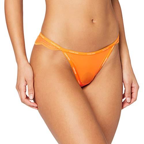 Calvin Klein Thong sous-vêtement, Fresh Zest, 38 Femme