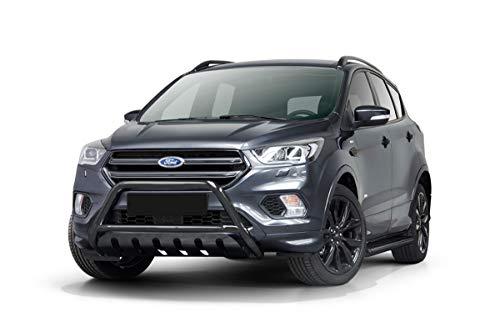 Barra de protección frontal con parrilla en color negro para Ford Kuga a partir de 2017...