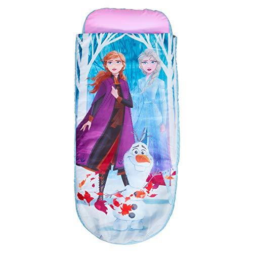 Disney Junior ReadyBed-lit Gonflable pour Enfants avec Sac de Couchage intégré, Tissu, Single