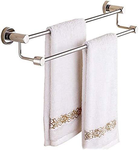Handdoek Rack, 304 Roestvrij Staal Met Dubbele Hefboom Handdoek Beugel For Wandmontage Plank Holder For Badkamer (Size : 80cm)