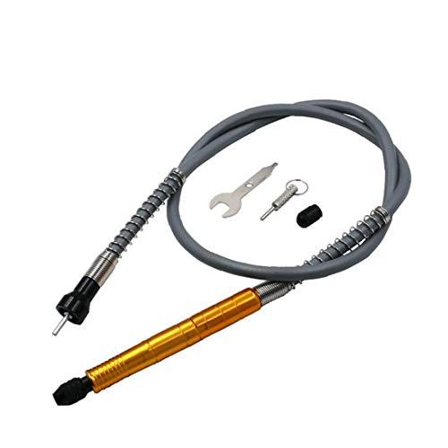 AAGOOD-Elektro Grinder wiederum Schraube Weiche Welle Torsion Bohrer Pleuelstangen Schlauch Gelb Aluminium Griff Flexible Biege Link-Adapter