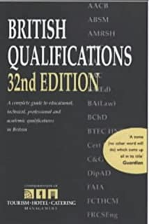 BRITISH QUALIFICATIONS (Reference)