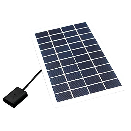 Osuner Panel Solar, Cargador de batería Solar magnético de 5V 5W, Panel Solar portátil, Amplia aplicabilidad