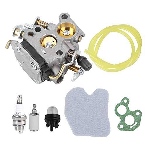 Carburador de motosierra, bombilla de imprimación del carburador, uso prolongado Aleación de aluminio Resistencia al desgaste Durabilidad Anodizado Exterior para jardín