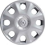 Tapacubos de repuesto para rueda Clio desde 2005 en adelante, 15 pulgadas, sintético, no original, individual