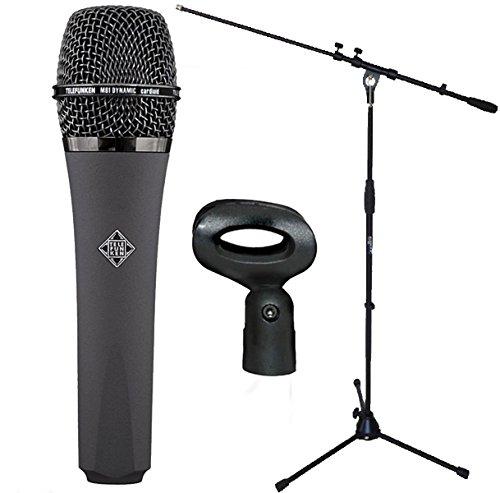 Telefunken M81Micrófono dinámico + Soporte para micrófono Keepdrum