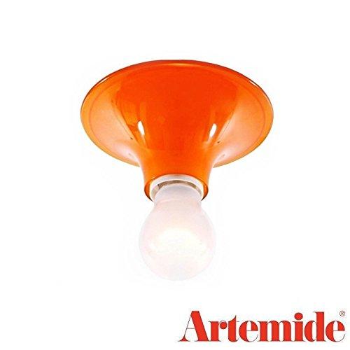Artemide Teti Lampe Retro Einheitsgröße Arancio