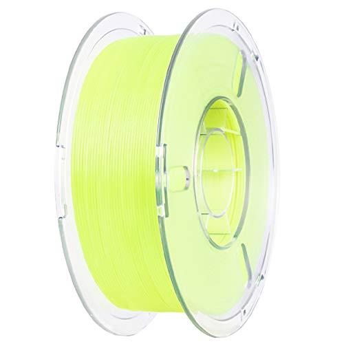 VOMI PLA+ Filament 1,75mm 1KG, Helles Gelb | 1,75 +/- 0,02mm | Verwicklung frei | Vakuumverpackung, PLA Plus Filament 3D Drucker Filament-3D-Druck für 3D Drucker oder 3D Stift