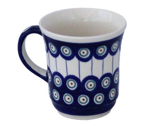 Original Bunzlauer Keramik Becher V=0,30 Liter im Dekor 8