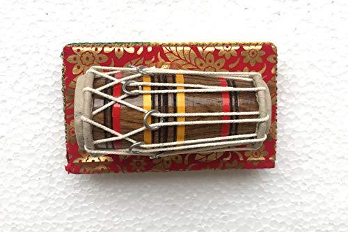 Handgefertigtes Miniatur-Element Pakhawaj Mridangam, Geschenk für Musiker