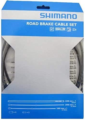 シマノ ロード用SUS ブレーキケーブルセット ブラック Y80098019
