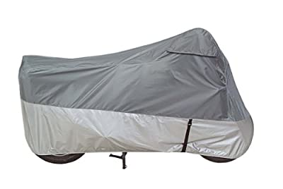Dowco Guardian 26037-00 UltraLite Plus Water Resistant Indoor/Outdoor Motorcycle Cover: Grey, X-Large by Dowco