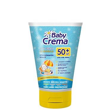 Baby Crema Sonnenschutz Schützende Baby Creme SPF 50+ Paraben Free 100ml