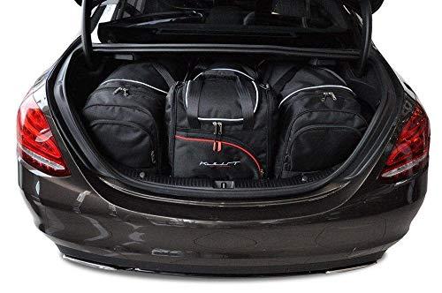 KJUST Reisetaschen 4 STK kompatibel mit Mercedes-Benz C Limousine W205 2013 -