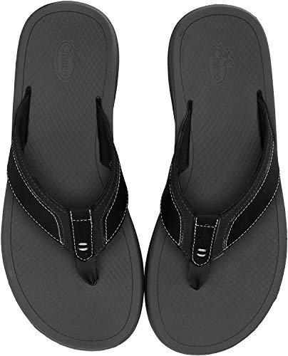Chaco Men's Playa PRO Leather Hiking Shoe, Black, 11.0 M US