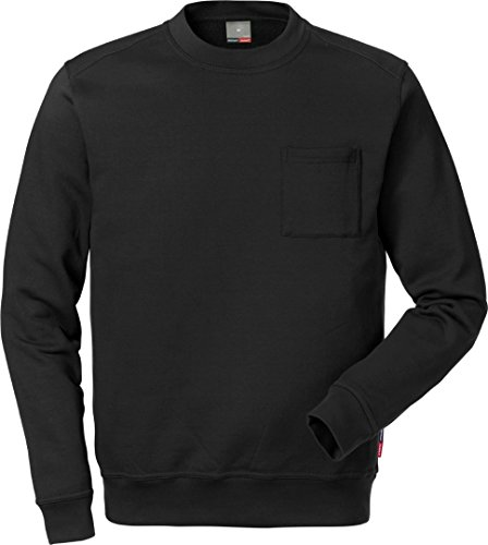 FRISTADS KANSAS Match Sweatshirt XL, schwarz