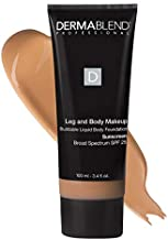 Dermablend Leg and Body Makeup Foundation with SPF 25, 40N Medium Natural, 3.4 Fl. Oz.