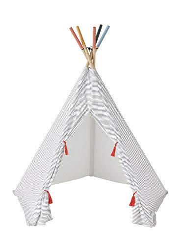 VERTBAUDET Tipi a Rayas Apache Blanco Claro Estampado Unica