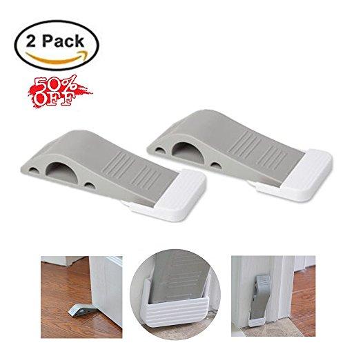 Christmas Gift Xmas - Door Stops and Door Holders - Premium Rubber Door Stoppers - 2 Pack Door Stop Wedge Door Gaps With Holders - LAVATO