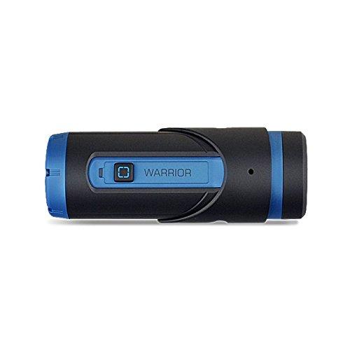 Cámara Yuntab Warrior G1S de 32 GB para deportes al aire libre, videocámara con Wi-Fi H.265 HD 1080P, 3400mAh batería, 165 ° gran angular, control remoto (azul)