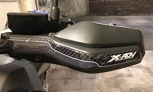 2 Pegatinas DE Resina DE Gel 3D para Guardabarros compatibles con Moto Scooter Honda X-ADV