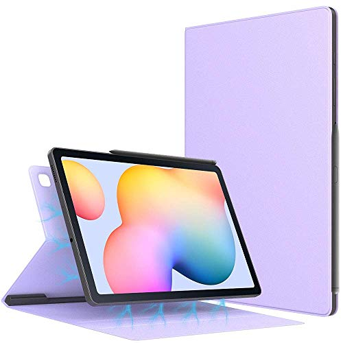 Case for All-New Galaxy Tab S6 Lite 10.4 Inch 2020 (SM-P610/P615), Ultra Slim Lightweight Magnetic Stand Cover with Auto Sleep/Wake Fit Galaxy Tab S6 Lite 10.4 2020 Tablet,Light Purple