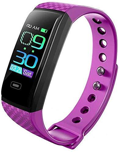 Unisex Saucy Armband Smartwatch Android IOS Bluetooth Fresh Sport Waterdichte Hartslagmeter Bloeddruk Meting Stappenteller Oproep Herinnering Slaap