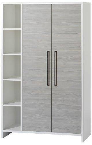 Schardt Eco Argent 2 et armoire avec étagères latérales