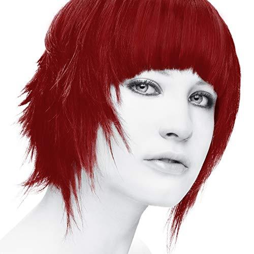 StarGazer Semi Permanent Hair Color - ROUGE - Amonia Free Hair Dye Includes Gloves