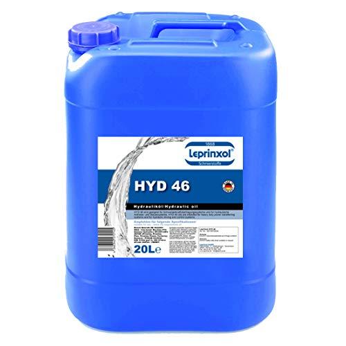 Leprinxol 20 Liter HYD 46 HYDRAULIKFLÜSSIGKEIT. Hydrauliköl HLP 46 Mineralöl, Druckflüssigkeit, Hydraulik Öl, Hydraulikanlagen, der DIN 51524 Teil 2-HLP, SEB 181 222-HLP, VDMA.