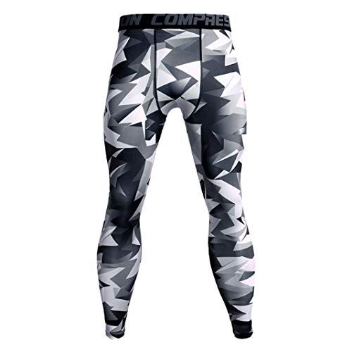ITISME 2020 Pas Cher Homme Pantalons de Compression pour Hommes Collants de Sport Leggings Collants de Sport Legging de Course Vêtements de Sport Séchage Rapide Pantalons