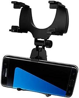 حامل سيارة عالمي من مارجون / حامل مرآة الرؤية الخلفية للسيارة وحامل لذراع السيارة لهاتف Samsung Galaxy C5 C7 C9 A9 Pro بال...