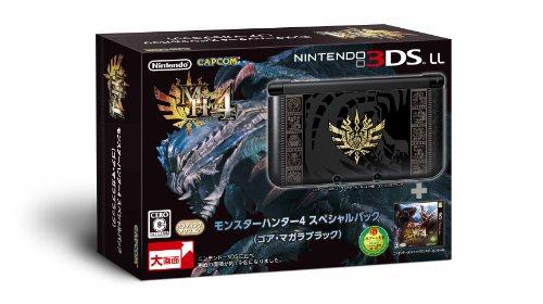 Nintendo 3DS XL Monster Hunter 4 Special Pack Goa Magara Black [import japonais]