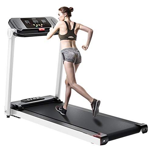 Cintas de correr Con Reposabrazos Eléctrica Silenciosa Pequeña para Niñas Máquina para Caminar Plegable En La Sala De Estar, con Aproximadamente 130 Kg